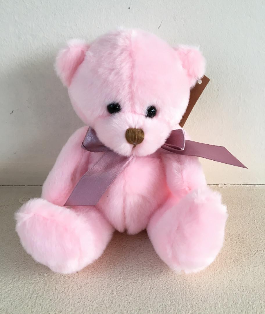 Картинки фото розовый мишка