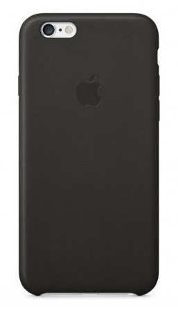 Чехол для Apple iPhone 6/6s Silicone Case Черный