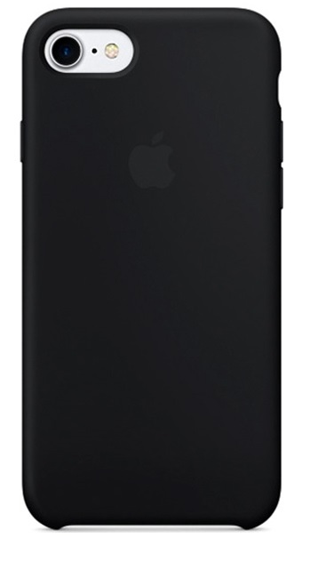 Чехол для Apple iPhone 7/8 Silicone Case Черный