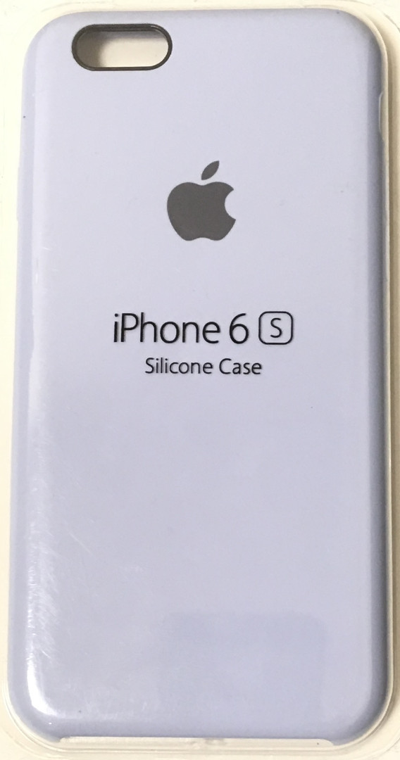 Чехол для Apple iPhone 6/6s Silicone Case Голубой