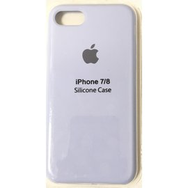 Чехол для Apple iPhone 7/8 Silicone Case Голубой